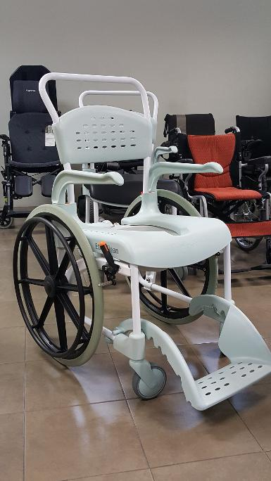 "Etac Clean Shower & Commode Chair ล้อ 24"" (Item code 10377)"